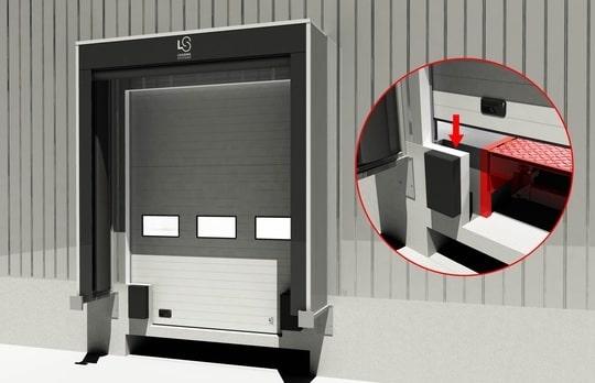 Рампи с телескопична уста ISO Dock